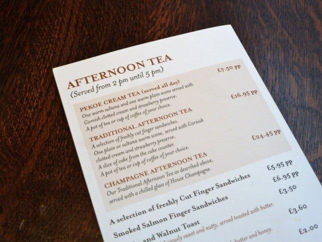 cómo traducir un menu