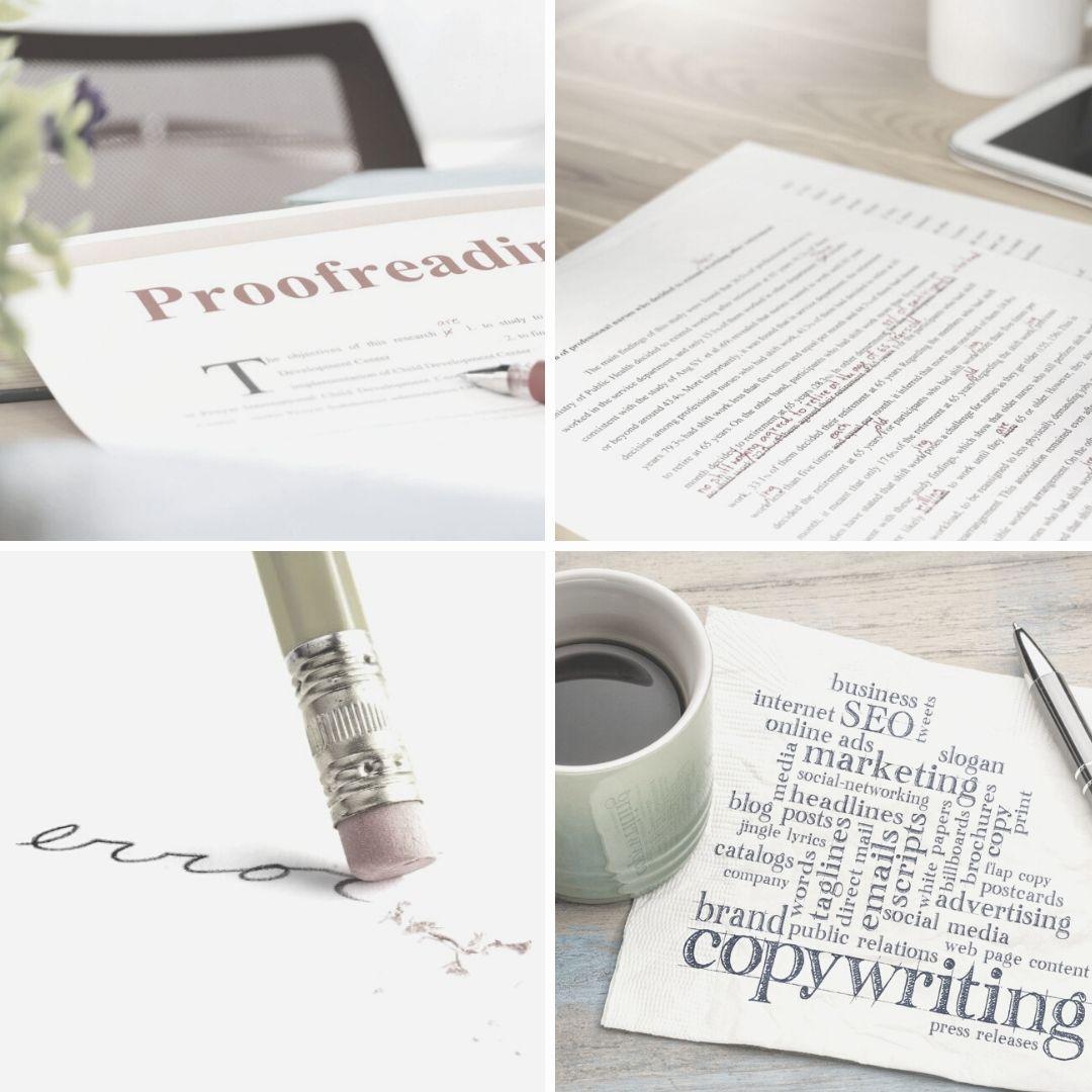 Redacción, edición y corrección ortotipográfica y de estilo
