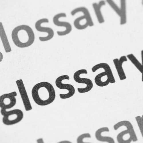creación de diccionarios y glosarios