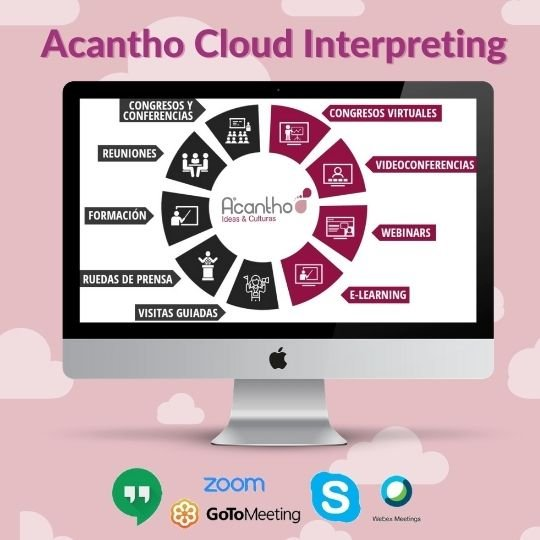 Presentamos Acantho Cloud Interpreting, nuestra plataforma de interpretación remota 3